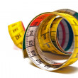 Rolled Measuring Tape — Stockfoto