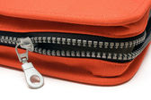 Unzipped Bag — Stock Photo