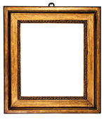 Old Wooden Golden Picture Frame — Stock Photo