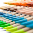 Stock Photo: Various Colored Crayons