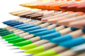Various Colored Crayons — Stock Photo