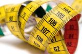 Herramienta de medición amarillo — Foto de Stock