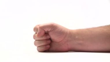 Gesturing - Anger — Stock Video
