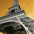Vintage Eiffel Tower — Stock Photo