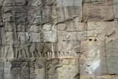 Ancient wall in Cambodia — Stock Photo