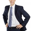 Happy young attractive businessman — Stock Photo #12801121