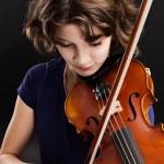Постер, плакат: Violin practice