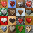 Hearts collage — Stock Photo #20015121