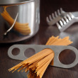 Spaghetti portion - Stock Photo