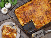 Lasagna serving — Stock Photo