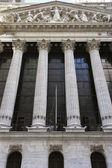 New York Stock Exchange building — Stock Photo