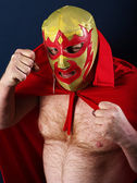 Luchador portrait — Stock Photo