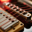 Electric guitar abstract — Stock Photo