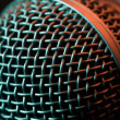 Vocal microphone macro — Foto de stock #30133565