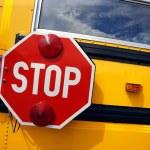 paragem de autocarro da escola — Fotografia Stock  #3180693