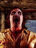Hungry zombie — Stock Photo