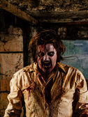 Nasty zombie — Zdjęcie stockowe