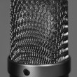 Large studio vocal microphone — Stock Photo