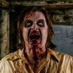 Horrible hungry zombie — Stock Photo #48432833