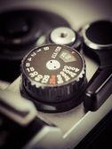 Manopola macchina fotografica d'epoca — Foto Stock