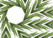 Абстрактный зеленая стрелка баннер — Cтоковый вектор