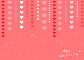 Gift card. Happy Valentine's Day — Stock Vector