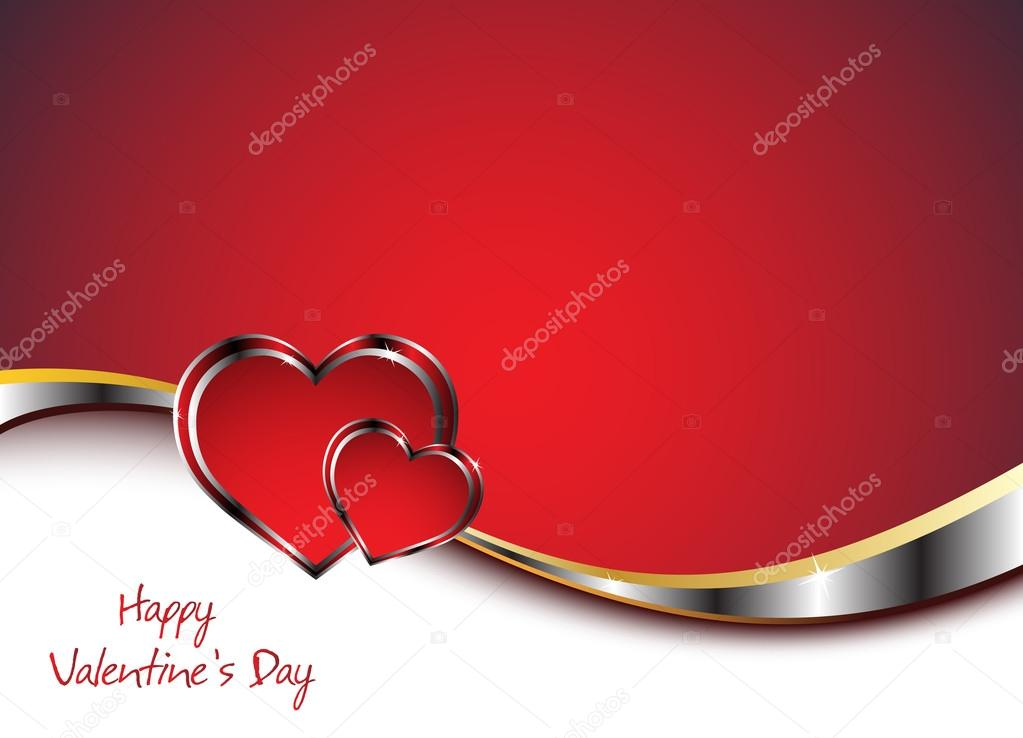 Valentine's card. Clip-art — Stock Vector #18576449