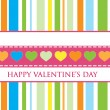 Royalty-Free Stock Vector Image: Gift card. Happy Valentine