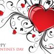 Valentines Day background — Stock Vector #18687927