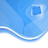Resumen fondo azul. ilustración vectorial — Vector de stock