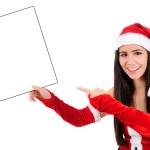 Isolated Christmas Girl — Stock Photo #16059051
