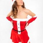 Young christmas girl — Stock Photo #16280273