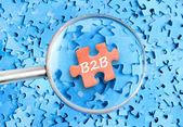 B2b woord — Stockfoto
