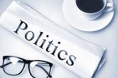 Siyaset kelime — Stok fotoğraf