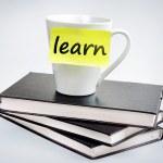 Learn word — Stock Photo