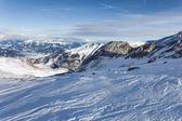 горнолыжные склоны курорта капрун — Стоковое фото