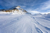 Ski slopes in Kaprun resort — Stock Photo