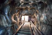 Entrance stairs in Turda Salt Mine — Stock Photo