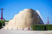 Ziggurat - Babel look-out tower — Stock Photo