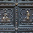 Detail of Baptistery bronze door, Florence — Stock fotografie