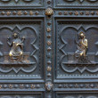 Detail of Baptistery bronze door, Florence — Стоковая фотография