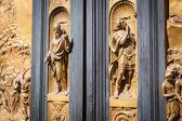 The Gate of Paradise - Baptistery, Florence — Stock Photo