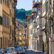 Stock Photo: Typical street in Florence city