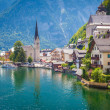 View of Hallstatt village — Foto Stock