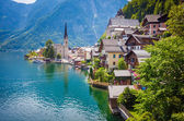 View of Hallstatt village — Stock Photo