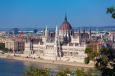 Hungarian Parliament Building — 图库照片