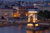 Budapest dawn cityscape — ストック写真
