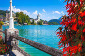 View of St. Wolfgang waterfront  — Stock Photo