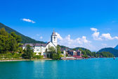 View of St. Wolfgang chapel — Stock Photo