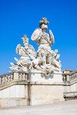 Sculpture at the Gloriette in Schoenbrunn Palace Garden — Stock Photo